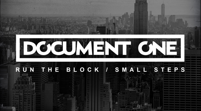 Document One – Run The Block / Small Steps [Technique Recordings]